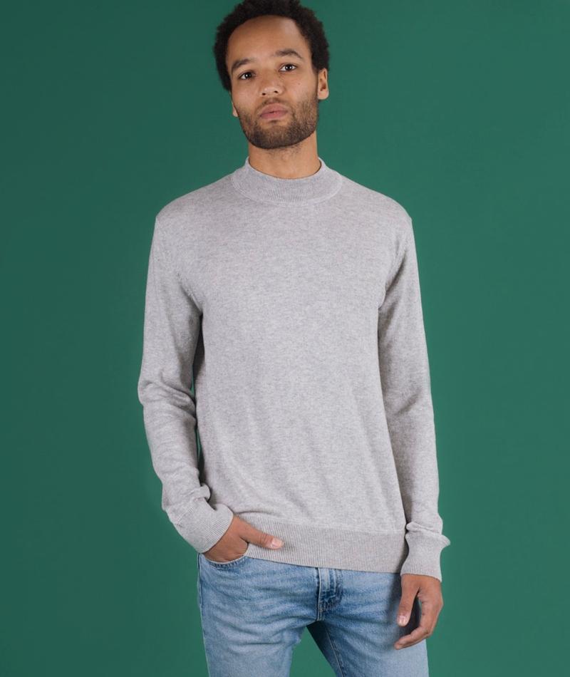 ROCKAMORA Ralan Pullover white grey