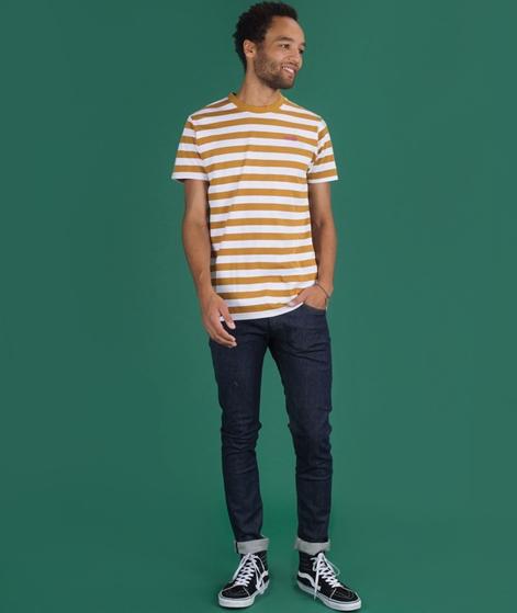 WEMOTO Script T-Shirt golden mustard
