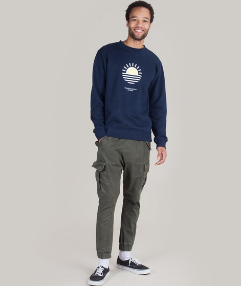 WEMOTO Life Sweater navyblue