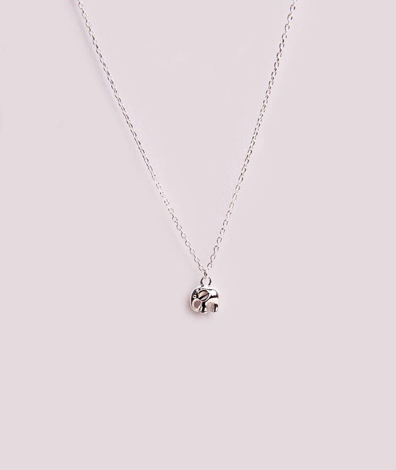 ESTELLA BARTLETT Elephant Kette silver