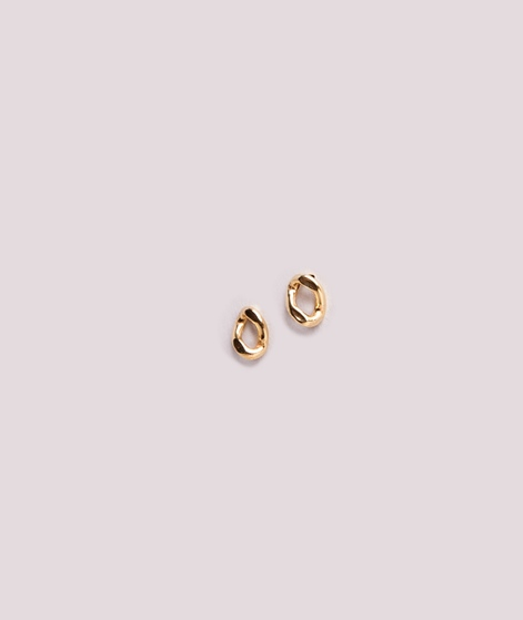 JUKSEREI Cleo Ear Stud gold plated silve