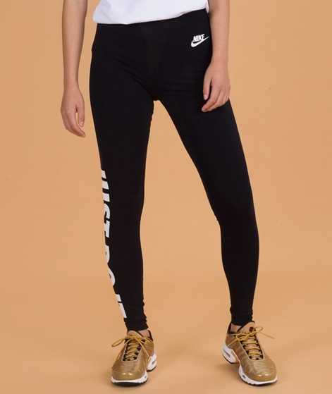 NIKE Leg A See Leggins black/white