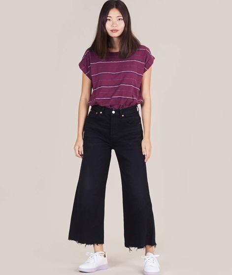 WEMOTO Bell T-Shirt burgundy/white/indig
