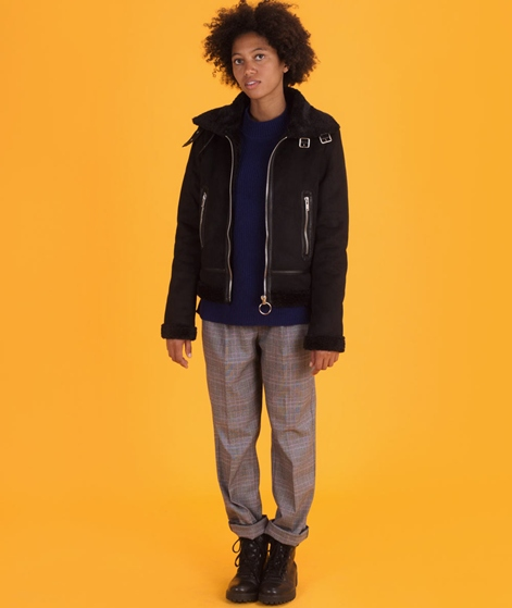 GLOBAL FUNK Burbank Shearling Jacke