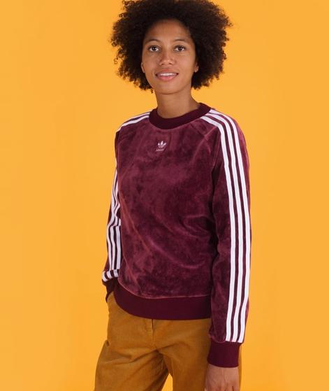 ADIDAS TRF Crew Sweater maroon