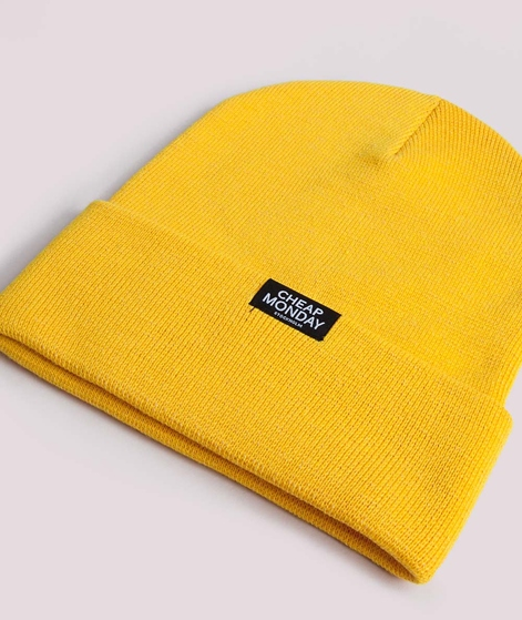 CHEAP MONDAY Cheap Beanie Mütze gelb