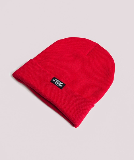 b31d872f54f CHEAP MONDAY Cheap Beanie brilliant red