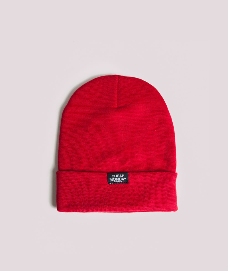 CHEAP MONDAY Cheap Beanie brilliant red