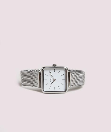 CLUSE La Garconne Uhr silber