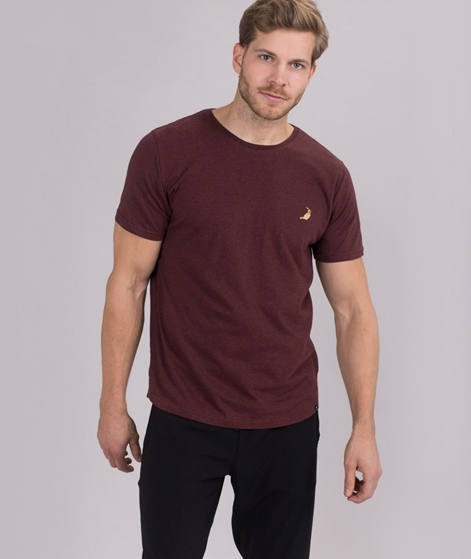 REVOLUTION Kenneth T-Shirt Nym bordeaux