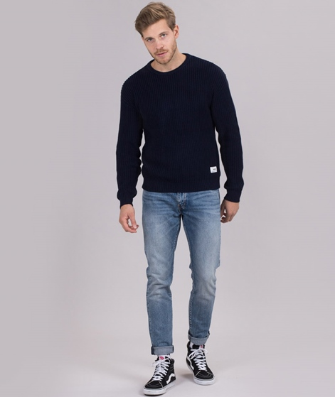 WEMOTO Colten Pullover navyblue