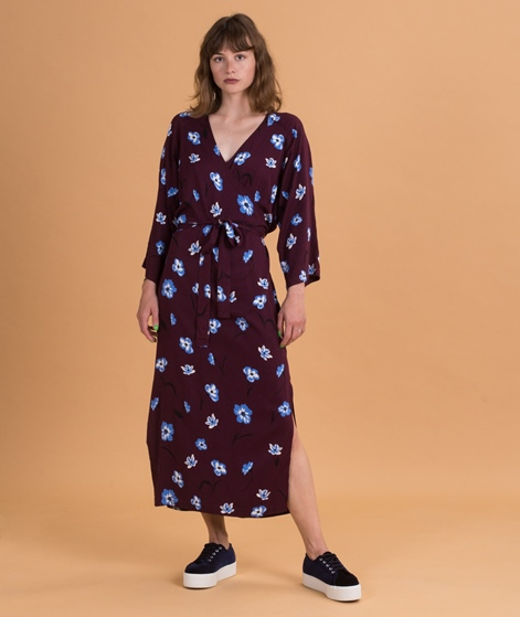 MOSS CPH Wella LS Kleid wine/palace