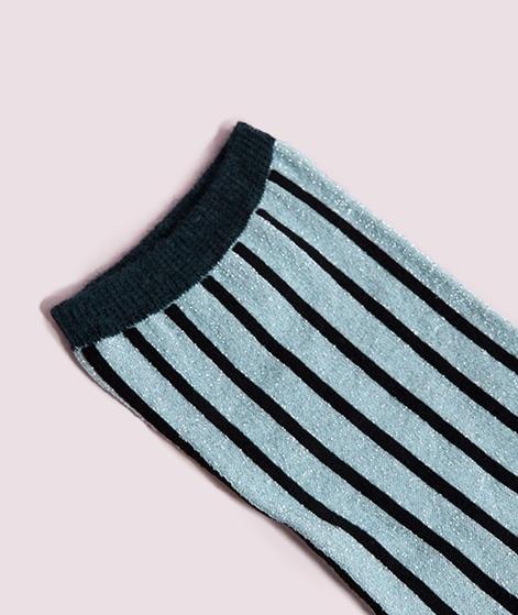 UNMADE CPH Solid Stripe Socken babyblue