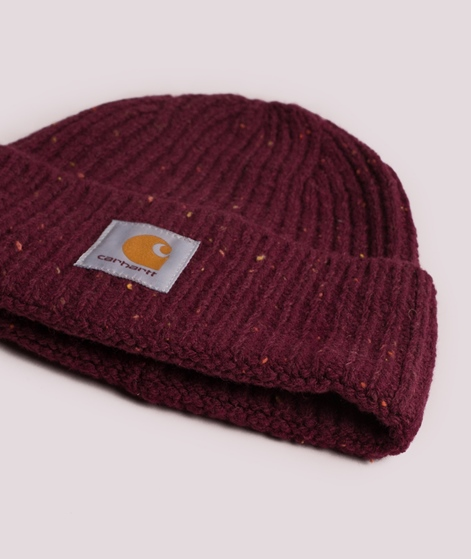 CARHARTT Anglistic Mütze mulberry heather