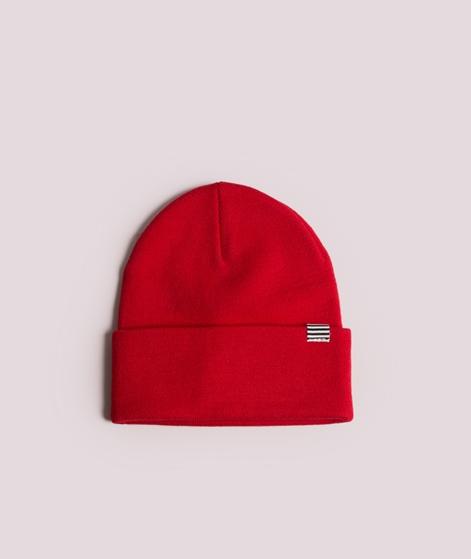 MADS NORGAARD Ambas Mütze bright red