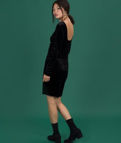 SELECTED FEMME Diva Velvet Kleid black