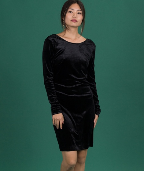 SELECTED FEMME Diva Velvet Kleid black