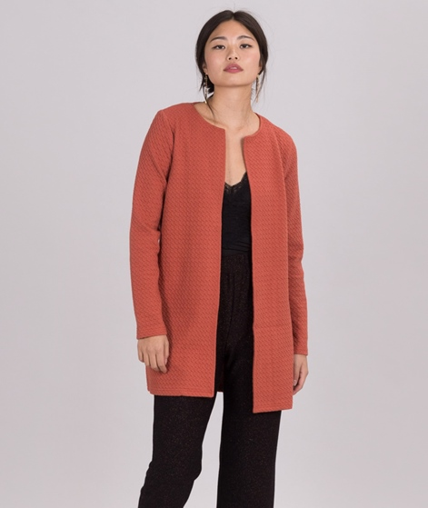 VILA Vinaja Cardigan redwood