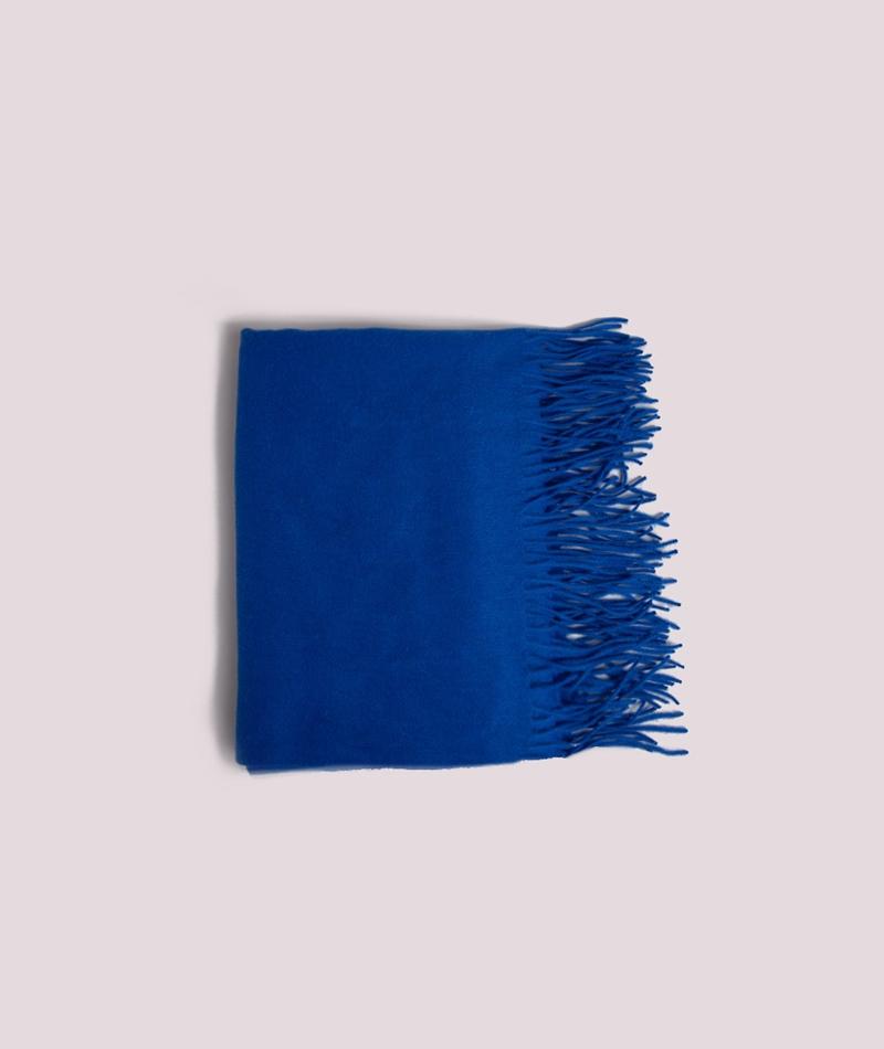 M BY M Stacy Sid Schal reflex blue