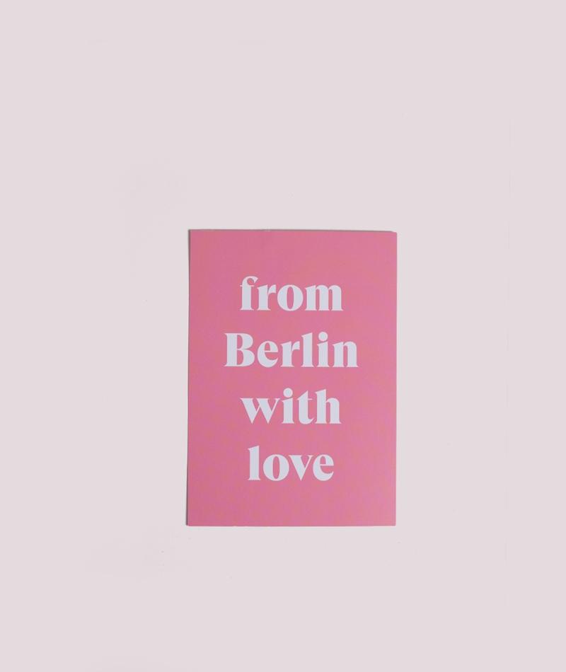 KAUF DICH GLÜCKLICH Postkarte Berlin