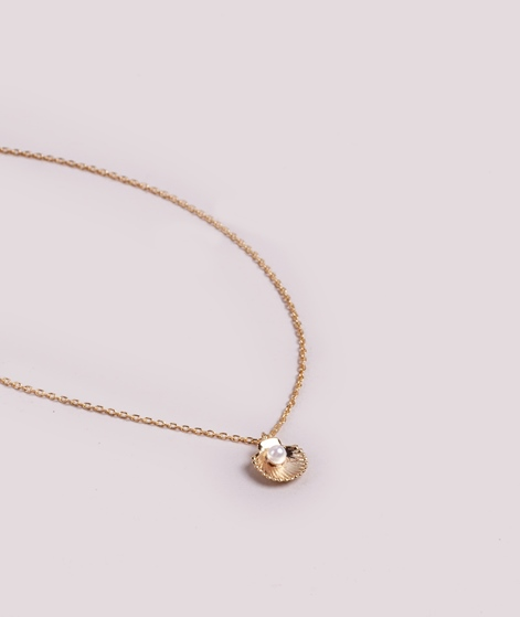ESTELLA BARTLETT Shell Kette pearl/gold
