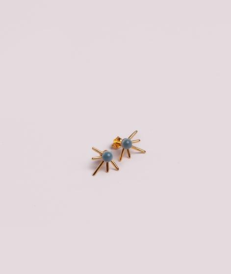 LOUISE KRAGH Supernova Ohrringe gold/sha