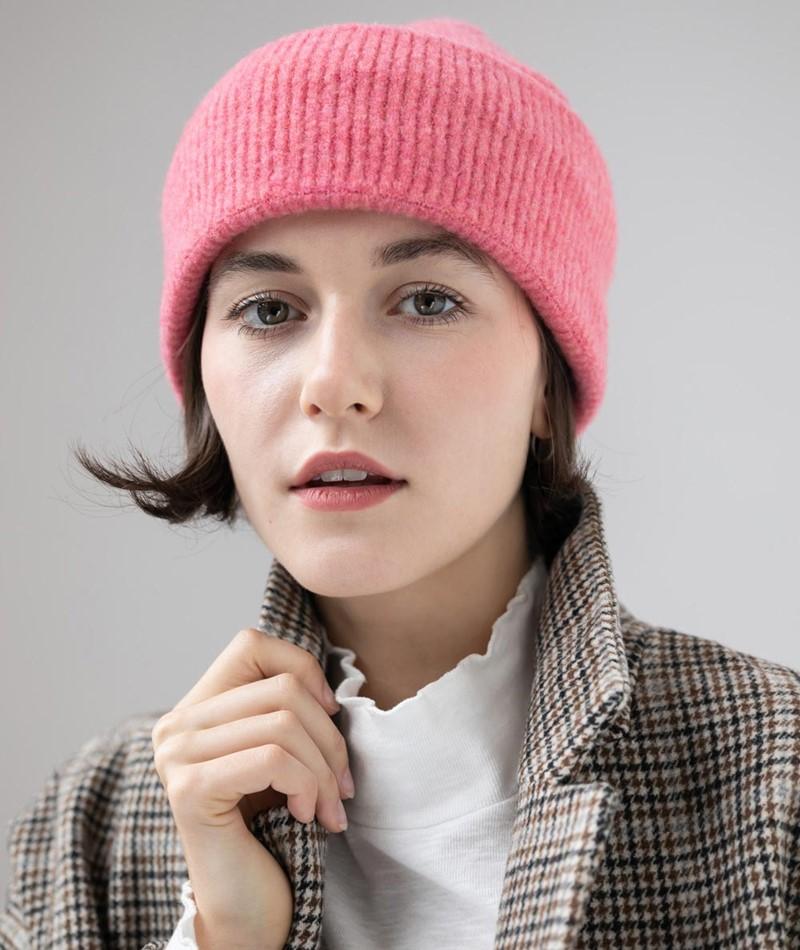 KAUF DICH GLÜCKLICH Lotti Mütze pink