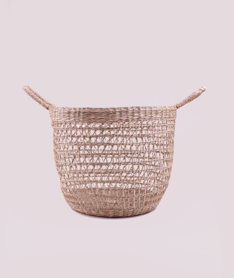 BLOOMINGVILLE Basket Seagrass nature