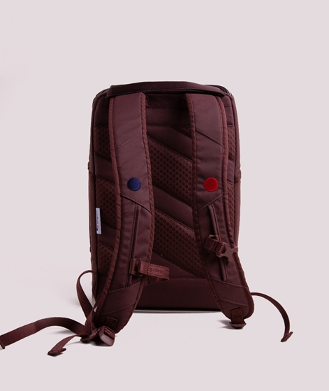 PINQPONQ Cubik Medium Rucksack maple maroon