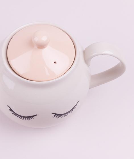 BLOOMINGVILLE Audrey Teapot rose stonewa