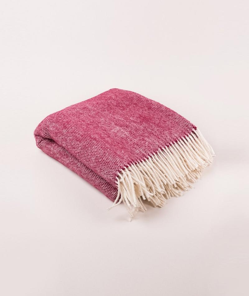 COUDRE BERLIN Wool Blanket redstone