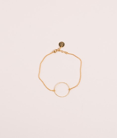 TOMSHOT Circle Armband gold