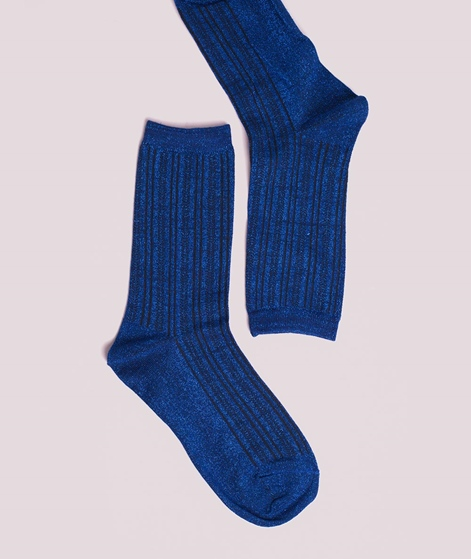 SELECTED FEMME SLFVida Socken blue depth