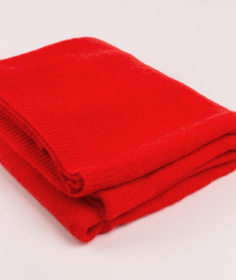 MOSS COPENHAGEN Nila Mohair Schal red