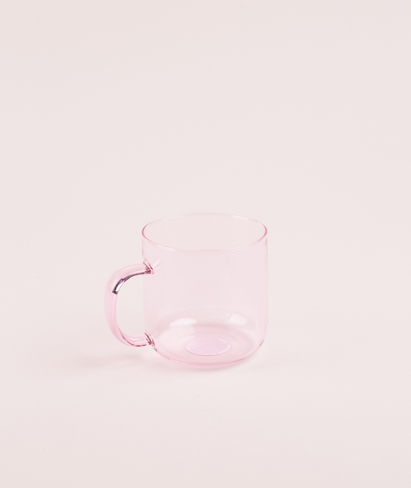 HAY Boroslicate Mug pink