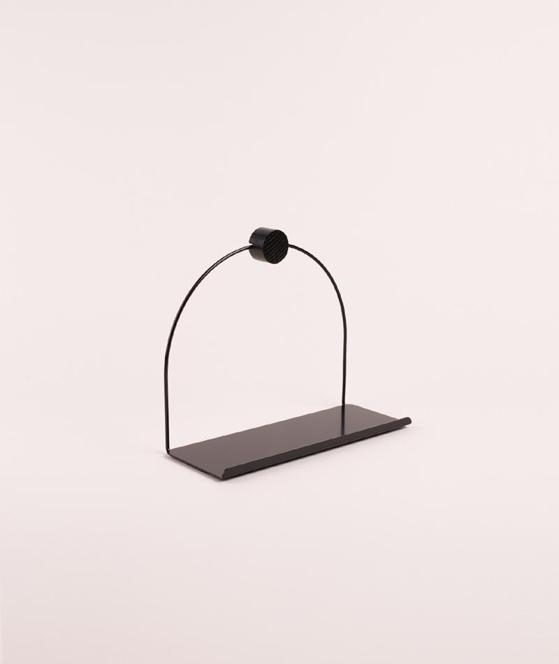 FERM LIVING Bathroom Shelf black