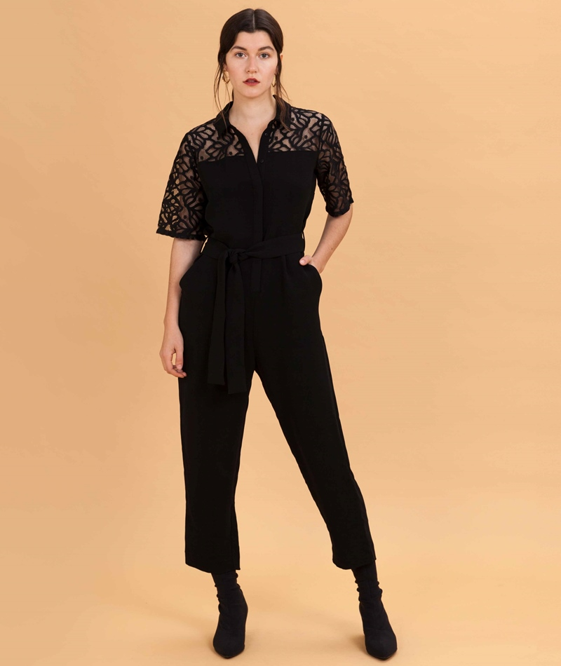 JUST FEMALE Cyndi Jumpsuit Overall black