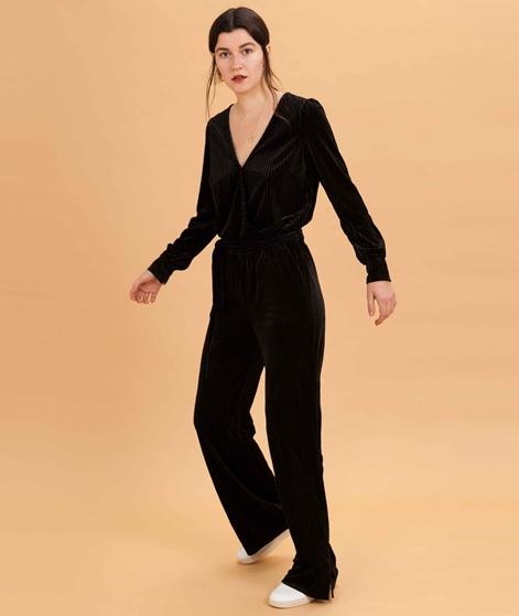 ANOTHER LABEL Pache Velvet Jumpsuit blac