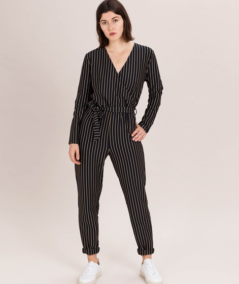 MOSS CPH Ellu Jumpsuit sky captain strip