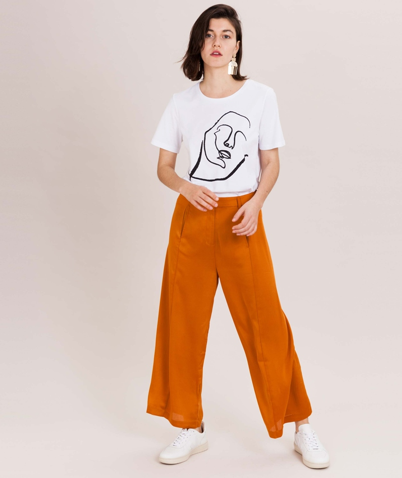 NATIVE YOUTH Solitary Thought T-Shirt wh