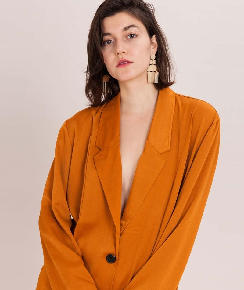 NATIVE YOUTH Beauvale Mantel orange