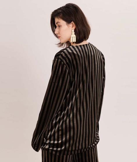MOSS CPH Rasmine Blazer black stripe