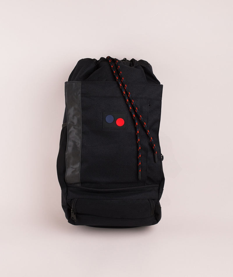 PINQPONQ Blok Medium Rucksack licorice b