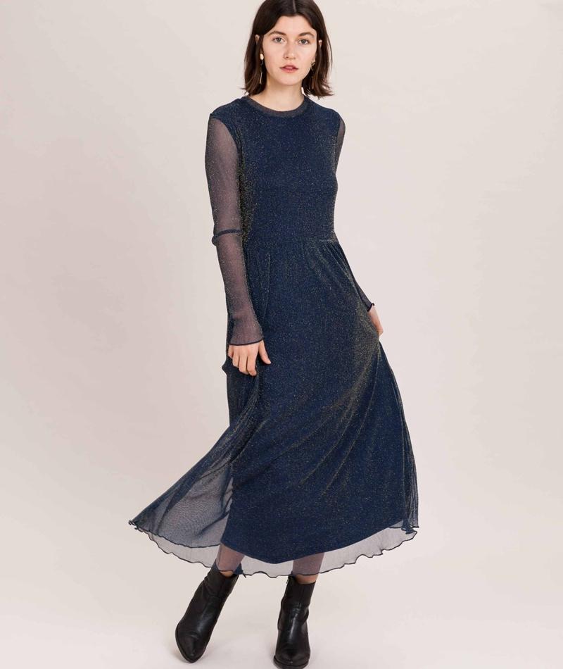 MOVES BY MINIMUM Miia Kleid dark blue