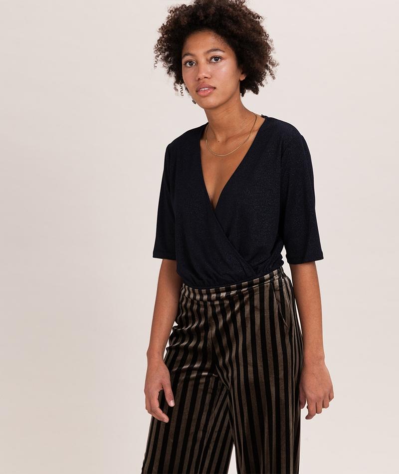 JUST FEMALE Siv Bodysuit dark sapphire