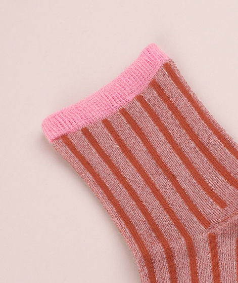 UNMADE CPH Solid Stripe Socken evening s