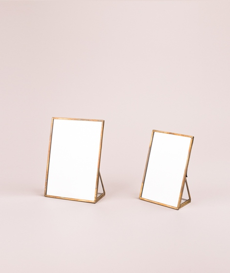 MADAM STOLTZ Standing Mirror 13x18cm bra