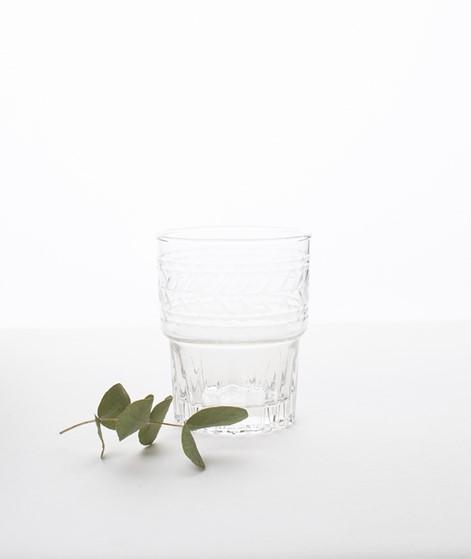 MADAM STOLTZ Drinking Glass w Cutting cl