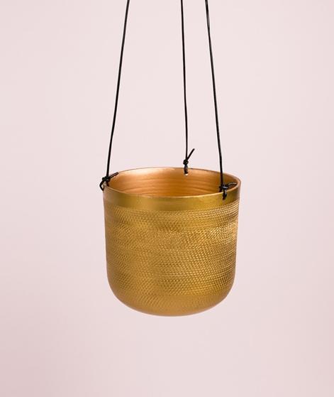 LIV Hanging Planter 10,5x10 cm brass fin