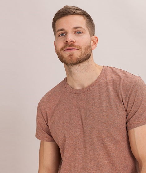 SAMSOE SAMSOE Kronos StripeT-Shirt orang